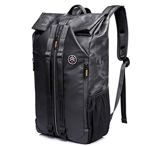 Tezevan Viaggi Trekking Zaino 15.6 inch Laptop Business College Borsa, Grande capacità di Lavoro Borse a Tracolla Multiuso Zaino