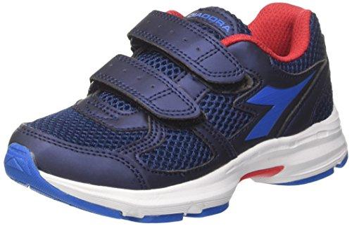 Diadora Shape 8 Jr V, Zapatillas de Running Niños, Azul (Estate Blue/Directoire Blue), 30 EU