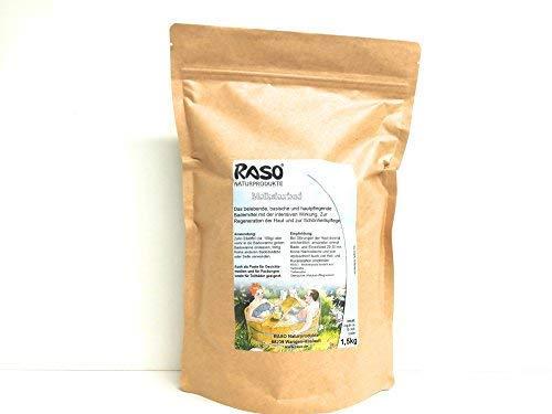 Basischer BADEZUSATZ -RASO- - baden in Milch wie Kleopatra - basisches Bademittel - 1,5 kg. Nachfüllpack
