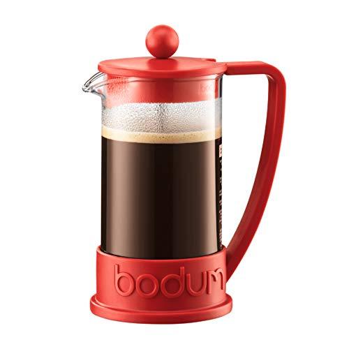 Bodum Brazil 10938-294 Kaffeebereiter 8 Tassen 1 l Rot