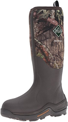 Muck Boots Herren Woody Max (New Camo) Gummistiefel, Braun (Mossy Oak Break-up Country), 43 EU