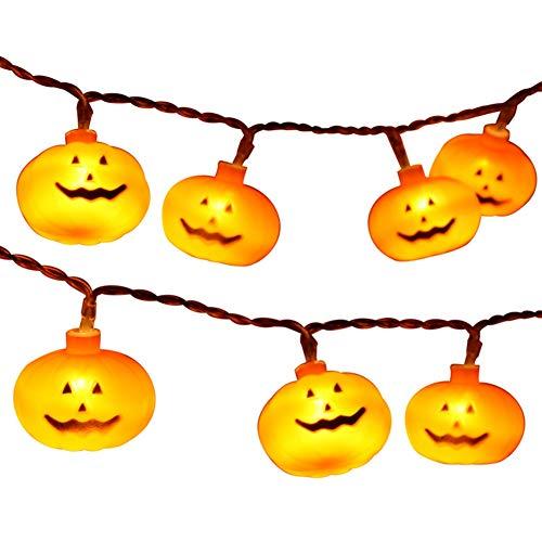 Halloween-Serie dekorative Lichterketten Kleine Kürbisbatterie-Lichterketten
