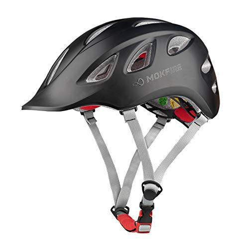 MOKFIRE Adult Bike Helmet Adjustable Lightweight Urban Casual Commuter...