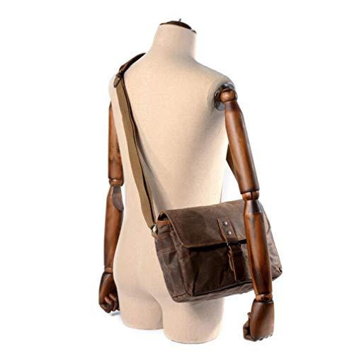 unknow Ristiege - Bolsa de lona para cámara de aire libre (resistente al aceite), color marrón