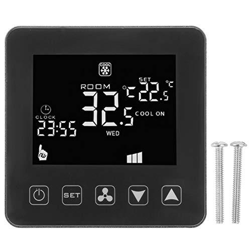Instrumento de control de temperatura industrial inteligente WIFI digital termostato de aire acondicionado central controlador de temperatura de bobina de ventilador