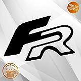 Pumpkiin Prints X2 Seat Leon Ibiza FR Logo Aufkleber Emblem Aufkleber Vinyl Cupra