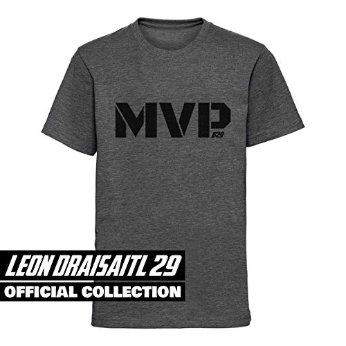 Scallywag® Eishockey Kids T-Shirt Leon Draisaitl MVP I Größen M - XL I A BRAYCE® Collaboration (offizielle LD29 Kollektion vom NHL Edmonton Oilers Star) (XL (152))