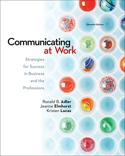 COMMUNICATING AT WORK-CONNECT PLUS
