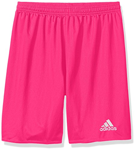 adidas Boys' Parma 16 Shorts, Shock Pink/White, Large