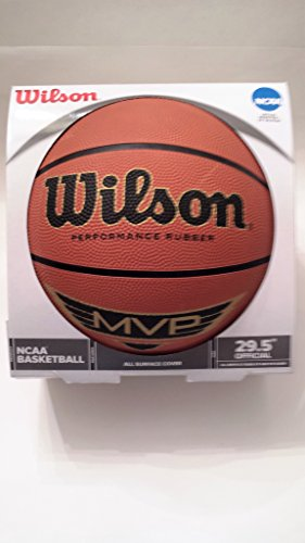 Find Bargain Wilson NCAA MVP 29.5 Performance Rubber Basketball