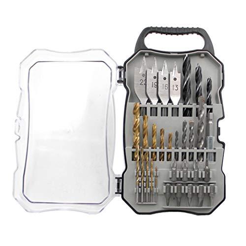 KunmniZ Electric Mini Drill Bit Kit Rotary Tool Accessories Set Cutting Engraving Tool