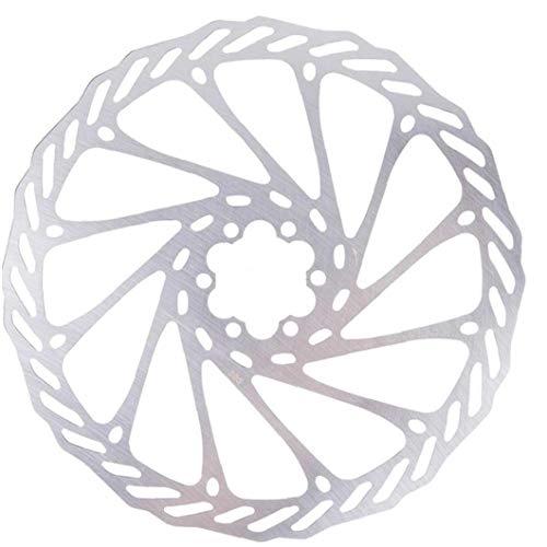 203 mm de Bicicletas Bicicleta del Freno de Disco de Freno de Disco Center Lock Rotores Rotores de Acero Inoxidable con 6 Pernos de Carretera Bicicleta de montaña MTB BMX
