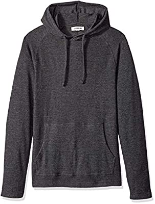 Amazon Brand - Goodthreads Men's Long-Sleeve Slub Thermal Pullover Hoodie, Heather Charcoal, XX-Large by Beacon Impex