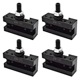 New AXA 4Pcs #1 Quick Change 250-101 Tool Post Turning Facing Holder 6-12' for Use with AXA Tool Post 250-100 250-111