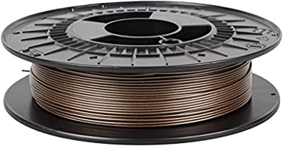 Czech-Made PETG, Coffee Bronze, ? 1.75 mm, 0.5 kg Spool, 3D Printing Filament from Filament PM