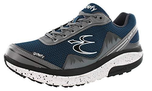 Gravity Defyer Men's G-Defy Mighty Walk Blue Gray Athletic Men's...
