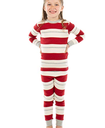 Lazy One Family Pajama Sets, Matching Pajamas for Babies, Kids, Teens, and Adults (Country Stripes, 10)