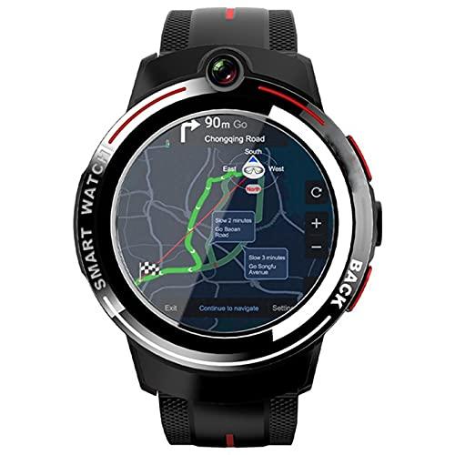 XYZK 3G + 32G Appllp 3 Smart Watch Phone De 1.3 Pulgadas Doble Cámara 4G Smart Smart Watch Sensor A Prueba De Agua A Prueba De Agua para iOS para Android