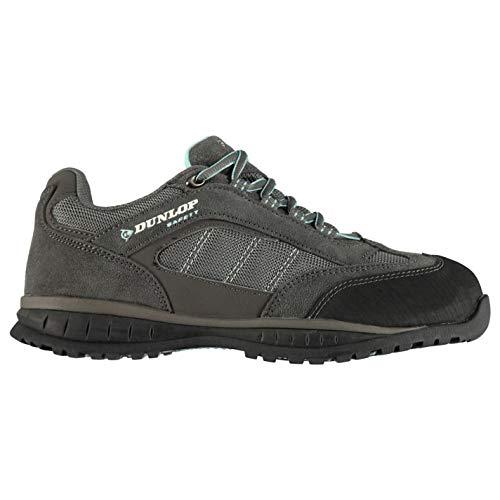 Dunlop Damen Iowa Sicherheitsschuhe Arbeitsschuhe Schutzschuhe Schuhe Halbschuhe Grey/Blue 8 (42)