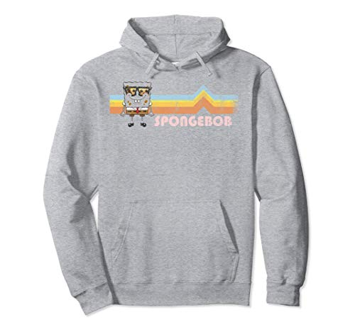 SpongeBob SquarePants Retro Sunglasses Stripes Hoodie