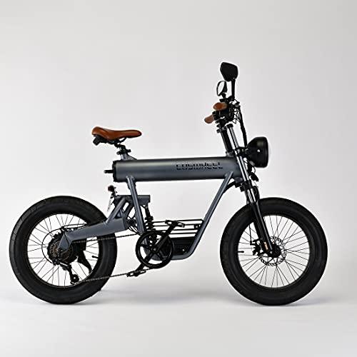 COSWHEEL SMARTEV 次世代電動バイク 1台で電動バイク・ハイブリット・自転車の3WAY 公道仕様 (本体(グレー))