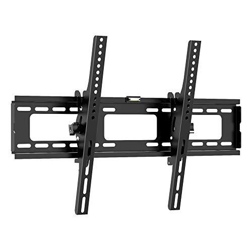 1home TV Staffa a Muro Supporto da Parete per Monitor TV LCD LED Plasma Nero da 30' a 63'