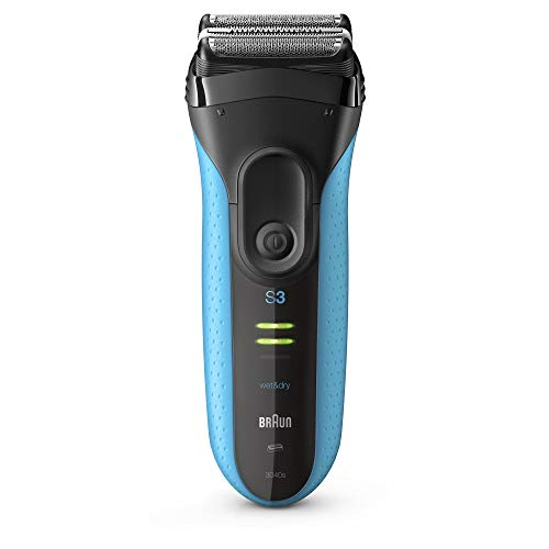 Braun Electric Razor for Men, Series 3 3010S Electric Shaver, Rechargeable, Wet...