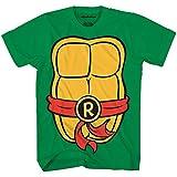 Teenage Mutant Ninja Turtles TMNT Mens Costume T-Shirt(Raphael,X-Large)