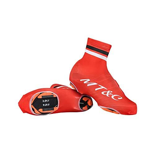 Couvre-chaussures de cyclisme Chaussures de cyclisme Coupe-vent imperméable Équipement de bicyclette extérieur imperméable à la poussière for hommes et femmes Sports de plein air Protecteur de vélo