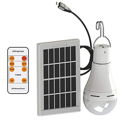 Campeggio Lanterna Luci Solari 20 LED 300LM Notte Tenda Lampada Ricaricabile Portatile per Emergenza Escursionismo Pesca Apparecchi di Illuminazione Esterna Montaggio A Parete