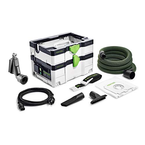 Festool CTL SYS Cleantec 575279 - Aspirapolvere 4,5 l L + tracolla per il trasporto, ugelli e tubo di aspirazione