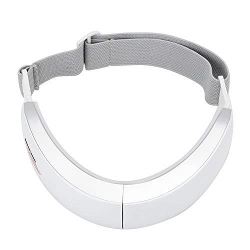 BHDD Correa de Adelgazamiento Facial eléctrica, 6 Modos V-Face LED Terapia de fotones Reductor de mentón, Máquina de Estiramiento Facial por vibración para Eliminar el acné, Poros Que encogen