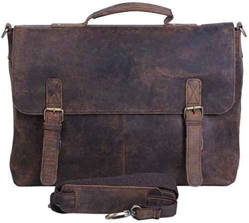 KomalC Retro Messenger Bag for Men