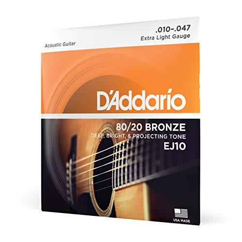 D'Addario EJ10 Juego de Cuerdas, Naranja