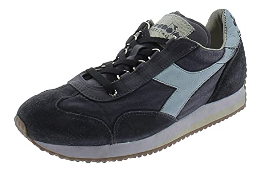 Diadora - Zapatillas deportivas Lifestyle Heritage Equipe H Dirty Stone Wash Evo para hombre y mujer