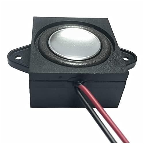 Wnuanjun 2 stücke Mini Sound Lautsprecher Altavoz 4 8 Ohm 3w Full Range Lautsprecher DIY Multimedia TV-Box PC Lautsprecher Computer Heimkino (Größe : 4 Ohm Speaker)