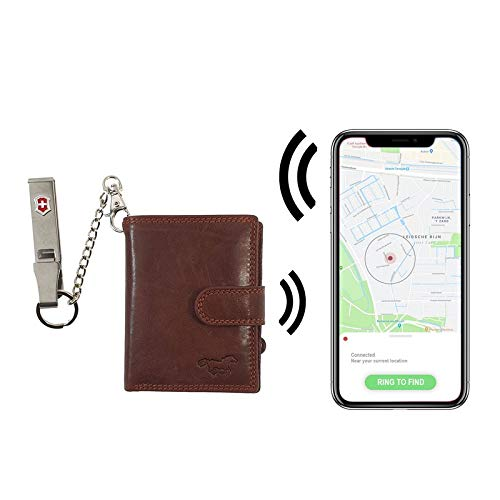Safekeepers RFID Leather Credit Card Holder
