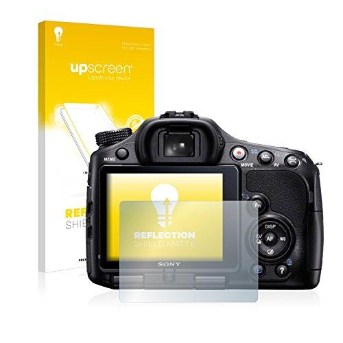 upscreen Protector Pantalla Mate Compatible con Sony Alpha 65V (SLT-A65V) Película