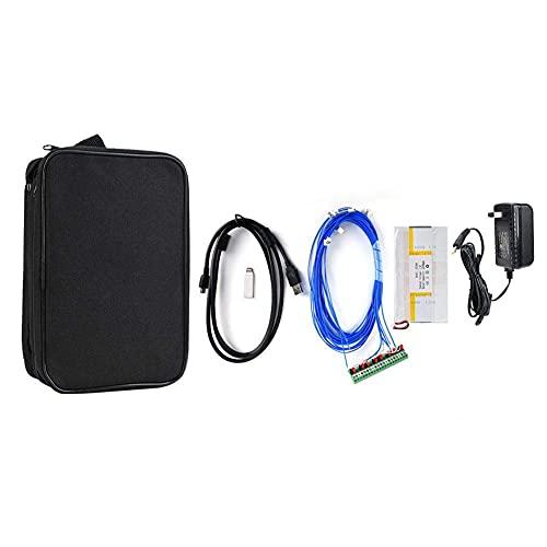 Probador de temperatura AT4808, probador de temperatura multicanal de puerto USB portátil con pantalla TFT Medición de pantalla -200 ℃ -1300 ℃ (enchufe de EE. UU.)