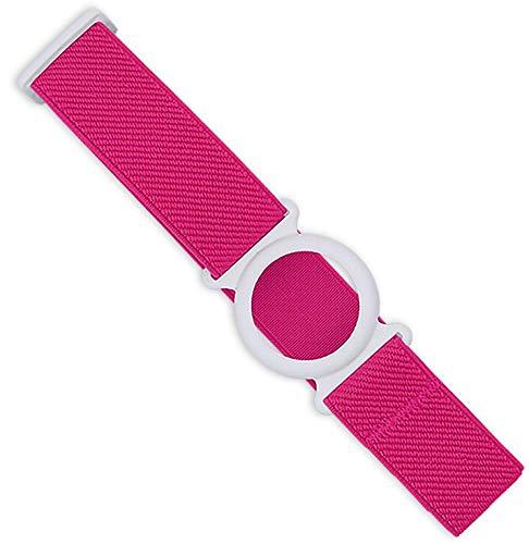 Freestyle Libre Fixierband – Ring: Weiß (Flexibel/Sensitiv) | Diasticker® (Medium: 25-35 cm, Pink)