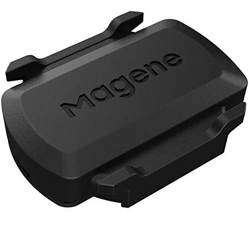 Magene S3+ Sensor de Velocidad o cadencia de Ciclismo Ant+ Velocímetro de computadora Bluetooth para computadora de Bicicleta Strava Wireless