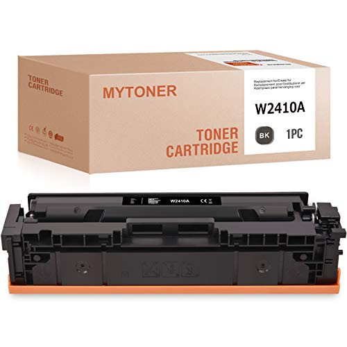 MYTONER toner-mero - Tóner compatible con HP 216A W2410A para HP Color Laserlet Pro M155A M155DW M155NW MFP M182N 182NW 183FW M183FDW (negro)
