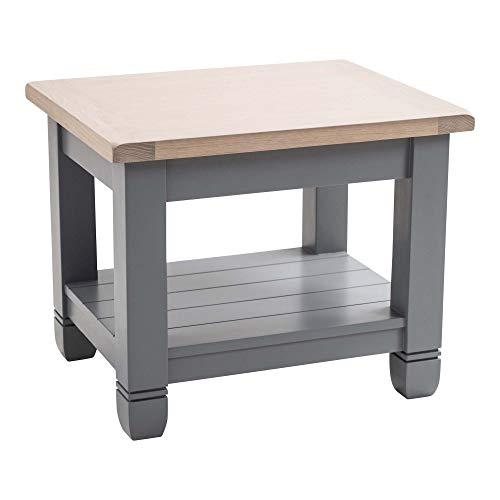 Maine Möbel CO. Faversham Beistelltisch–Dove Grau, Holz, Mehrfarbig