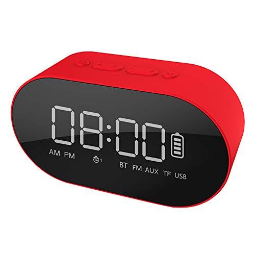 Byx Bluetooth-luidspreker, computer, audiokaart, plug-in subwoofer luidspreker, draadloos, draagbaar, mini-wekker, audio, meerkleurig B