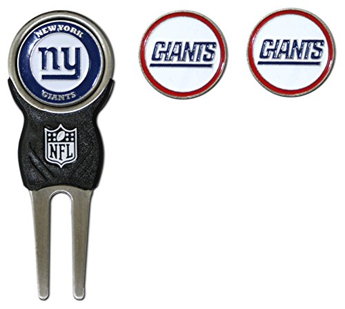 Buy Bargain Team Golf NFL Denver Broncos Divot Tool with 3 Golf Ball Markers Pack, Markers are Remov...