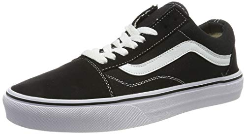 Vans Unisex-Erwachsene Ua Comfycush Old S (Classic), 8, Medium Sneaker, Mehrfarbig Black Vnvne, 40.5 EU