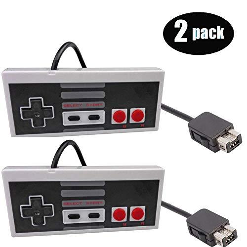 giZmoZ n gadgetZ 2X GNG-Ersatz-SNES/NES-Controller, kompatibel für Nintendo Super SNES Classic, NES Classic