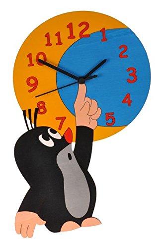 Wanduhr Uhr - der kleine Maulwurf - Kinderzimmer Kinderuhr