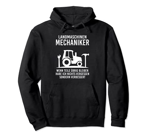 Máquinas agrícolas mecánicas si las piezas no se olvide nada. Sudadera con Capucha