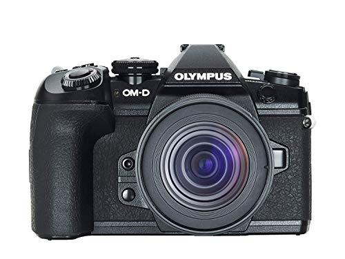 Olympus OM-D E-M1 MarkII Micro-Four-Thirds-Systemkamera-Kit inkl. M.Zuiko Digital ED 12-45mm F4 PRO Objektiv, 20MP Sensor, 5-Achsen-Bildstabilisation, leistungsstarker Autofokus, 4K Video, Schwarz